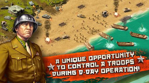 Code Triche Deuxième Guerre mondiale: Jeu de stratégie APK Mod screenshots 1