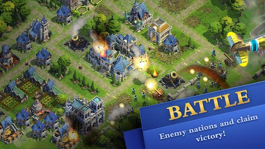DomiNations Mod Apk (Unlimited Gold/Food/Oil) 2
