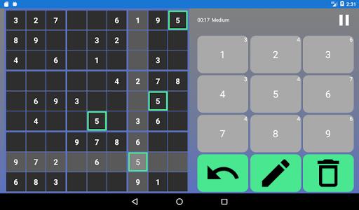 SUDOKU - Offline Free Classic Sudoku 2021 Games  screenshots 10