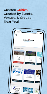 Grandstand - Events & Guides Screenshot