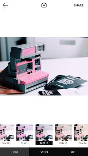 Retro Camera-Polo Image,Analog film,Paris,Pink android2mod screenshots 12