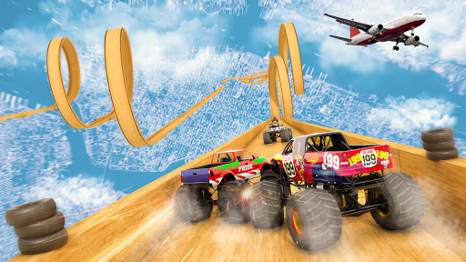 Mega Ramp Monster Truck Driving Stunts Racing Game 2.0.11 screenshots 15