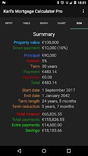 Karl's Mortgage Calculator Pro 5