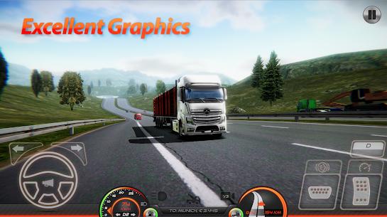 Truck Simulator : Europe 2 – Free APK Mod 1