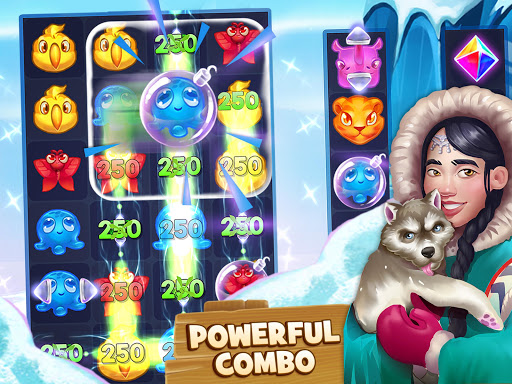 Animal Drop u2013 Free Match 3 Puzzle Game modavailable screenshots 8
