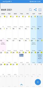 Greece Calendar 2021 3.89.103