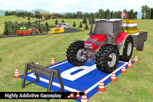 Tractor Trolley Parking Drive - Drive Parking Game 2.6 Screenshots 6