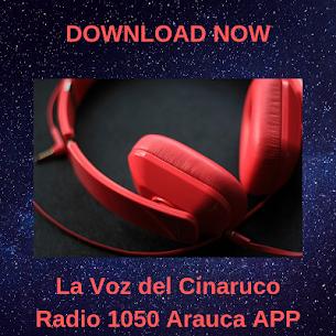 La Voz del Cinaruco Radio 1050 Arauca APP FREE 1.2 Mod Apk [Newest Version] 1