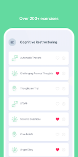 CBT Companion: (Cognitive Behavioral Therapy app)