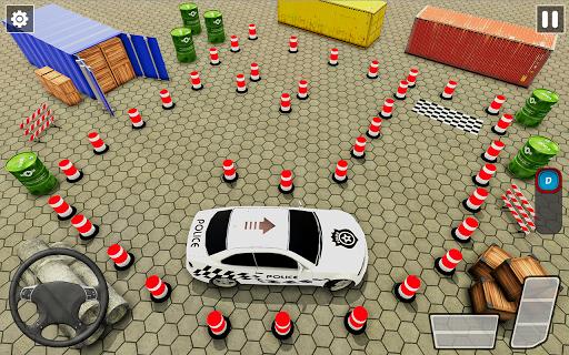 Crazy Traffic Police Car Parking Simulator 2020 screenshots 12