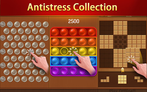 Puzzle Game Collection&Antistress 2.5 screenshots 11