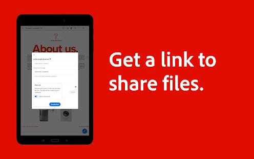 Adobe Acrobat Reader: PDF Viewer, Editor & Creator 21.7.0.18750 Screenshots 10