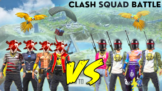 Clash Squad Free-Fire Battleground Survival 3D 1