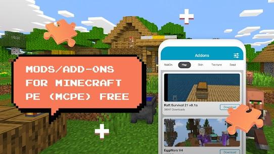 Add-ons for minecraft pe, mcpe MOD APK (Premium Unlock) Download 5