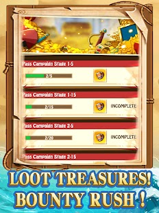Pirates:Treasure Battlefield Screenshot