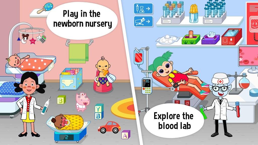 Pepi Hospital: Learn & Care  poster 1