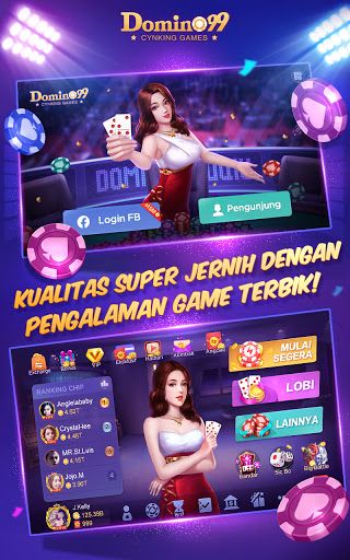Domino QiuQiu u00b7 99 :  Awesome Online Card Game screenshots 9