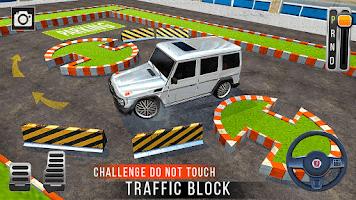Car Parking Simulator Games: Prado Car Games 2021