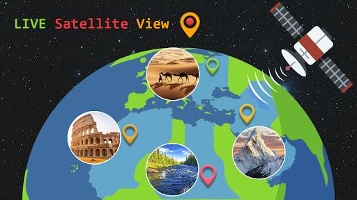 Live Earth Map 2020 -Satellite & Street View Map  Screenshots 4
