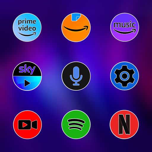 Pixly Fluo - Icon Pack