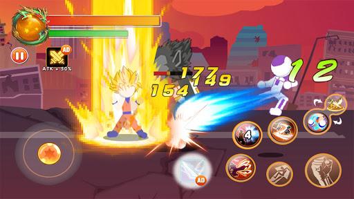 Code Triche Dragon Stickman Attack : Universe Warriors  APK MOD (Astuce) screenshots 1