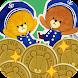 メダル落とし - がんばれ!ルルロロ - Androidアプリ