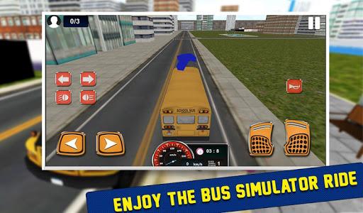 school bus drive simulator2016 screenshot 3