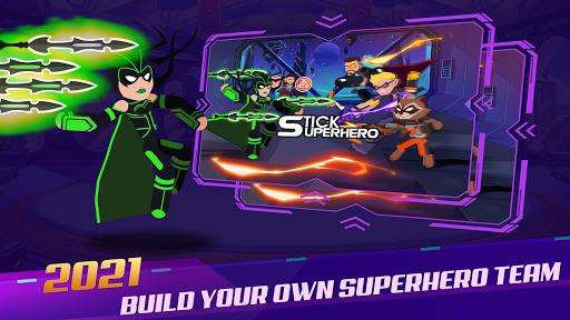 Stickman Super Heroes - Stick Battle Arena Fight screenshots 1