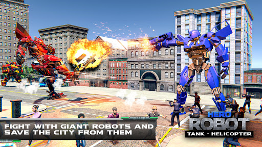 Tank Robot Transform Wars - Multi Robot Game  screenshots 8