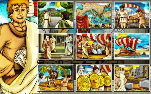 ancient greece jigsaw puzzles screenshot 2