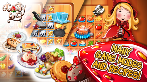 Tasty Tale: puzzle cooking game Apkfinish screenshots 2