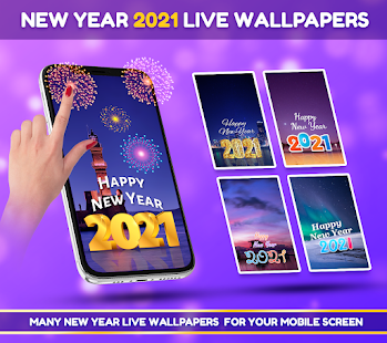 New Year 2021 Greetings, Photo frames