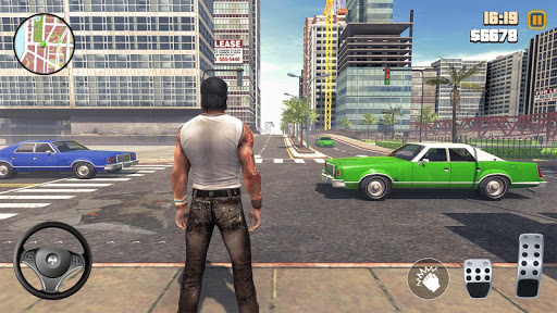 Télécharger Grand Gangster Auto Crime  - Theft Crime Simulator APK MOD (Astuce) screenshots 1