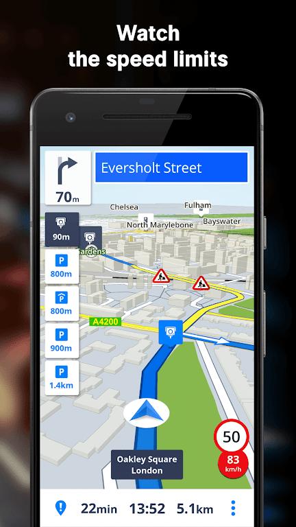 Sygic GPS Navigation & Offline Maps poster 2