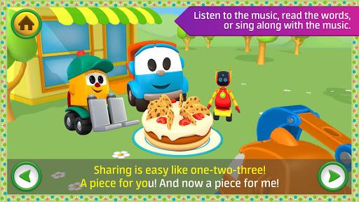 Leo the Truck: Nursery Rhymes Songs for Babies Apkfinish screenshots 2