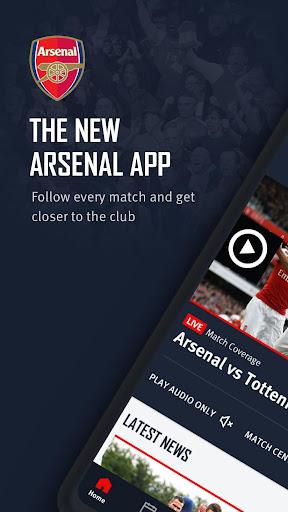 Arsenal Official App 6.0.3 Screenshots 1
