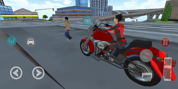 Flying Girl Rope Hero Spider Swing Game 1.3.1 screenshots 2