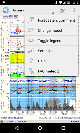 Meteo - meteo.pl reader 1.9.1 Screenshots 2