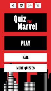 Quiz for Marvel