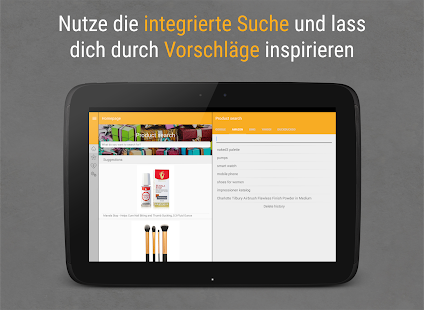 Wish Explorer - Wunschliste Screenshot