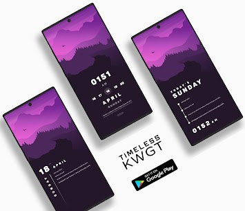 Timeless KWGT Apk [Paid] Download for Android 4