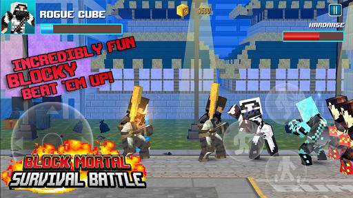 Block Mortal Survival Battle  screenshots 3