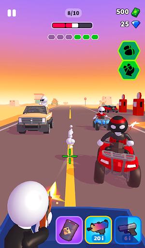 Rage Road - Car Shooting Game screenshots 12