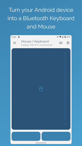 Foto do Serverless Bluetooth Keyboard & Mouse for PC/Phone