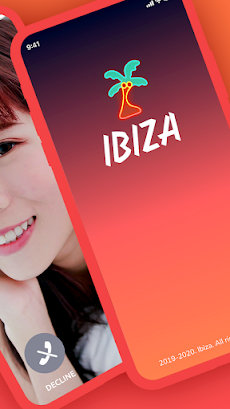 Ibiza:ビデオ通話アプリ - Ibiza Video Chatのおすすめ画像2