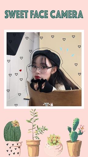 Sweet face camera - live filter selfie photo edit 1.3.0 Screenshots 4