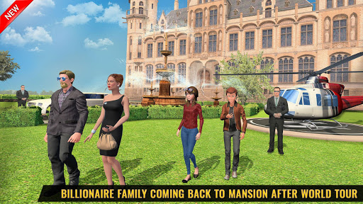 Billionaire Dad Luxury Life Virtual Family Games 1.1.3 screenshots 2