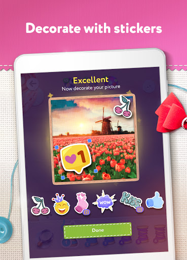Magic Cross Stitch: Color Pixel Art 2.9.1 screenshots 10
