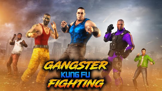 Gangster Kung Fu Fight: Karate Fighting Games 4