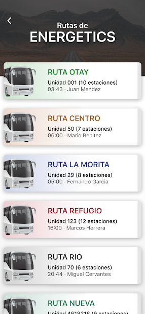 Transportista Mi Kiosko screenshot 1